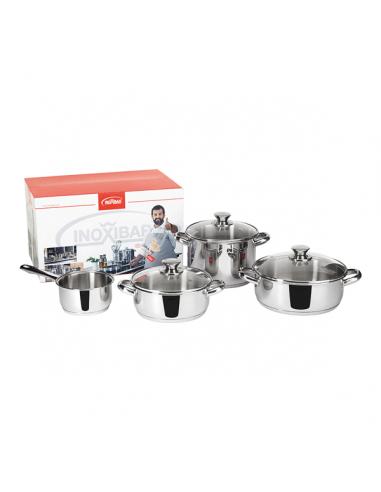 Acheter Batterie Complete Ecco Cristal 4 U De De Ustensiles De